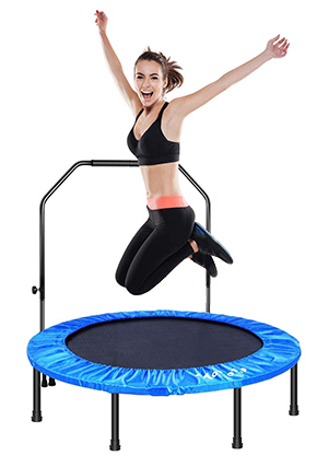 MOVTOTOP Folding Indoor Trampoline