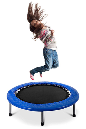 Giantex Folding Mini Rebounder Trampoline