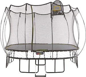 springless best square trampoline