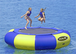 Rave Aqua Jump Eclipse Water Bouncer